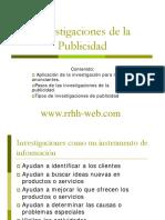 Investigacion Publicidad