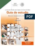 29-Guia Estudio Complementaria ARTES MUSICA 16-17