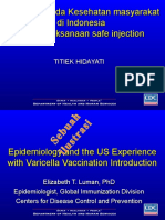 Epidemiology Vaccine and in Public Health 2012