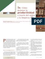 5's. Cómo Mejorar La Productividad a Través Del Orden y La Limpieza (I)