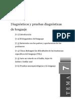 Diagnostico y Pruebas diagnosticas del Lenguaje.pdf