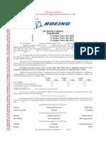 Boeing prospectus