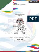 Buku Panduan PON Cabor Karate