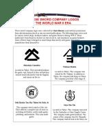 Japanese Sword Company Logos