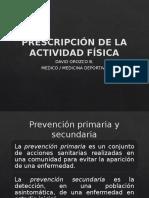 clase 9 PRESCRIPCIÓN DE LA ACTIVIDAD FISICA.pptx