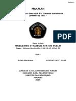 Manajemen Stratejik Sondang P. Siagian pada PT. Semen Indonesia (Persero) Tbk.