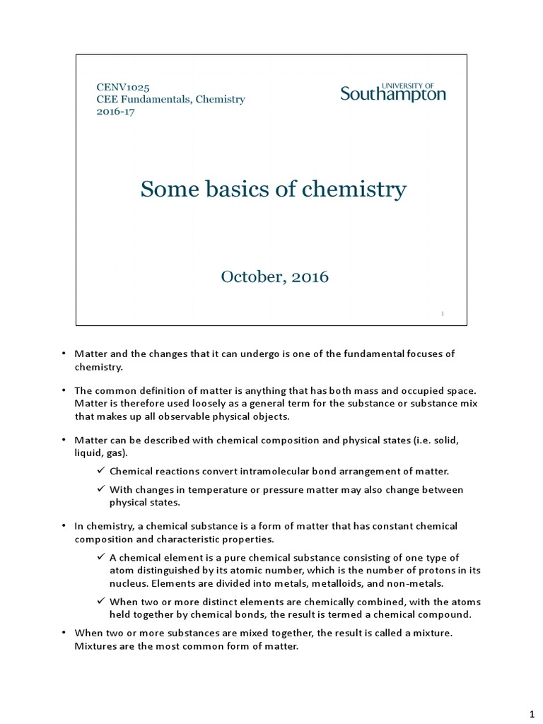 some basics of chemistry _ 2016-17 | intermolecular force | chemical