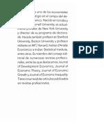 Economía Del Desarrollo, Debraj Ray