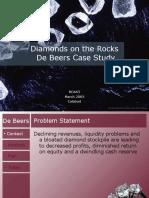 Analysis of Debeers 6032