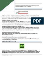 Dreamweaver Cs 6 Basics