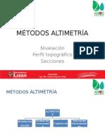 Métodos altimétricos