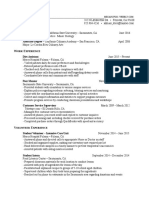 dietetic resume 2017