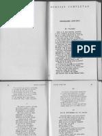 Poemas, Sonetos de Antonio Machado