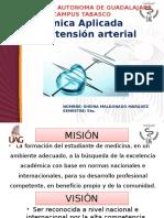 Exposición  hipertensión arterial CA