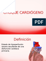 choque cardiógeno