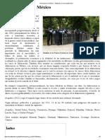 Delincuencia en México