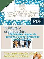 Las Organizaciones Como Culturas