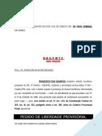 Pedido Liberdade Provisoria Flagrante Estupro Vulneravel PN288