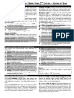 WFRP2 Stdd Rules Breakdown
