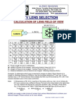 CCTV Lens Selection Calculator for .pdf