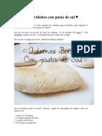 Adornos Navideños Con Pasta de Sal
