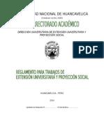 RAGLAMENTO DE PROYECCION SOCIAL 2015.docx