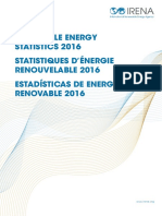 IRENA RE Statistics 2016