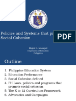 RogerMasapol_PoliciesAndSystemsThatPromoteSocialCohesion