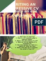 Writing an Impressive CV I.pptx
