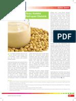 Manfaat Susu Kedelai Untuk Pasien Nefropati Diabetik