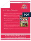 Rainbow International CBSE School Thane Facilities Brochure