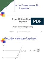 Metodo de Newton
