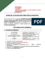 Bases de Licitación