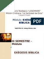 SEMINARIO LANDMARK Exégesis Bíblica.pptx