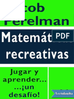 Matematicas Recreativas - Yakov Perelman