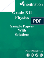 CBSE Super-Practice Paper SET A  pdf | Refractive Index