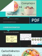 William Carbohidratos Simples - Complejos