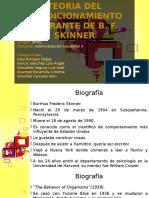Teoria de Skinner