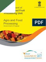 Freeze Dried Fruit Processing Unit