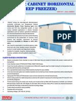 Horizontal Deep Freezer Manufacturer Tanco Lab Products