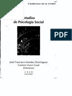 Estudios de Exclusion Social en Psicologia - Morales