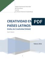 Creatividad en Países  latinos