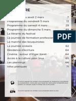 Atlantide 2017 Programme