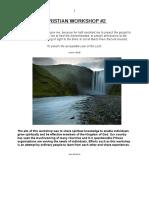 Christian Workshop Manual  #2 20170211