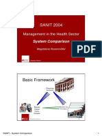 System Comparison 2004