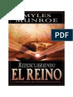Dr. Myles M. - Redescubriendo El Reino