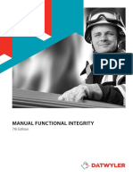 DATWYLER Manual Functional Integrity 0715 En