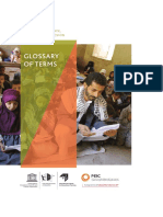 Glossary of terms Safety, resilience and social cohesion