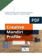 Creative Mandiri Profile