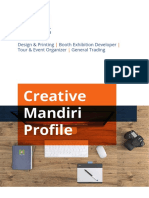 Creative Mandiri Profile